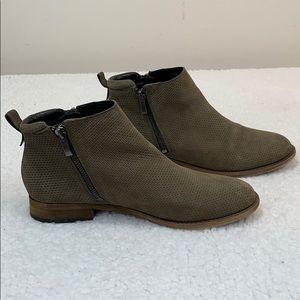 Franco Sarto Keegan 2 Brown Booties  Size 8.5